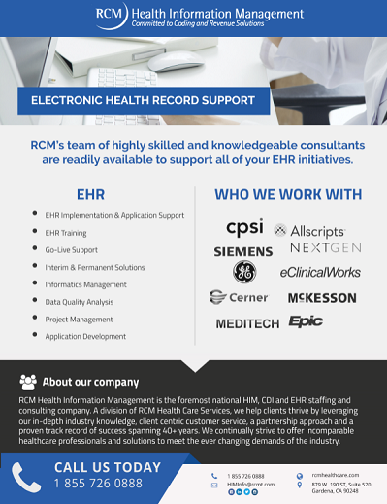 Resources - RCM Health Care Services